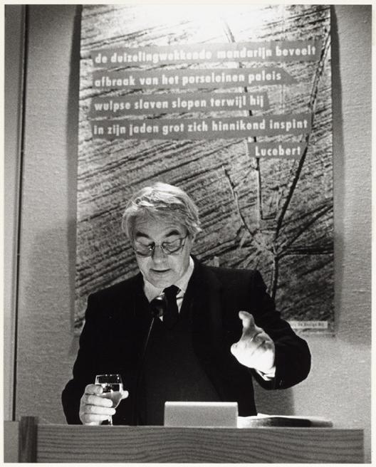 19 speech Lucebert c Literatuurmuseum Den Haag