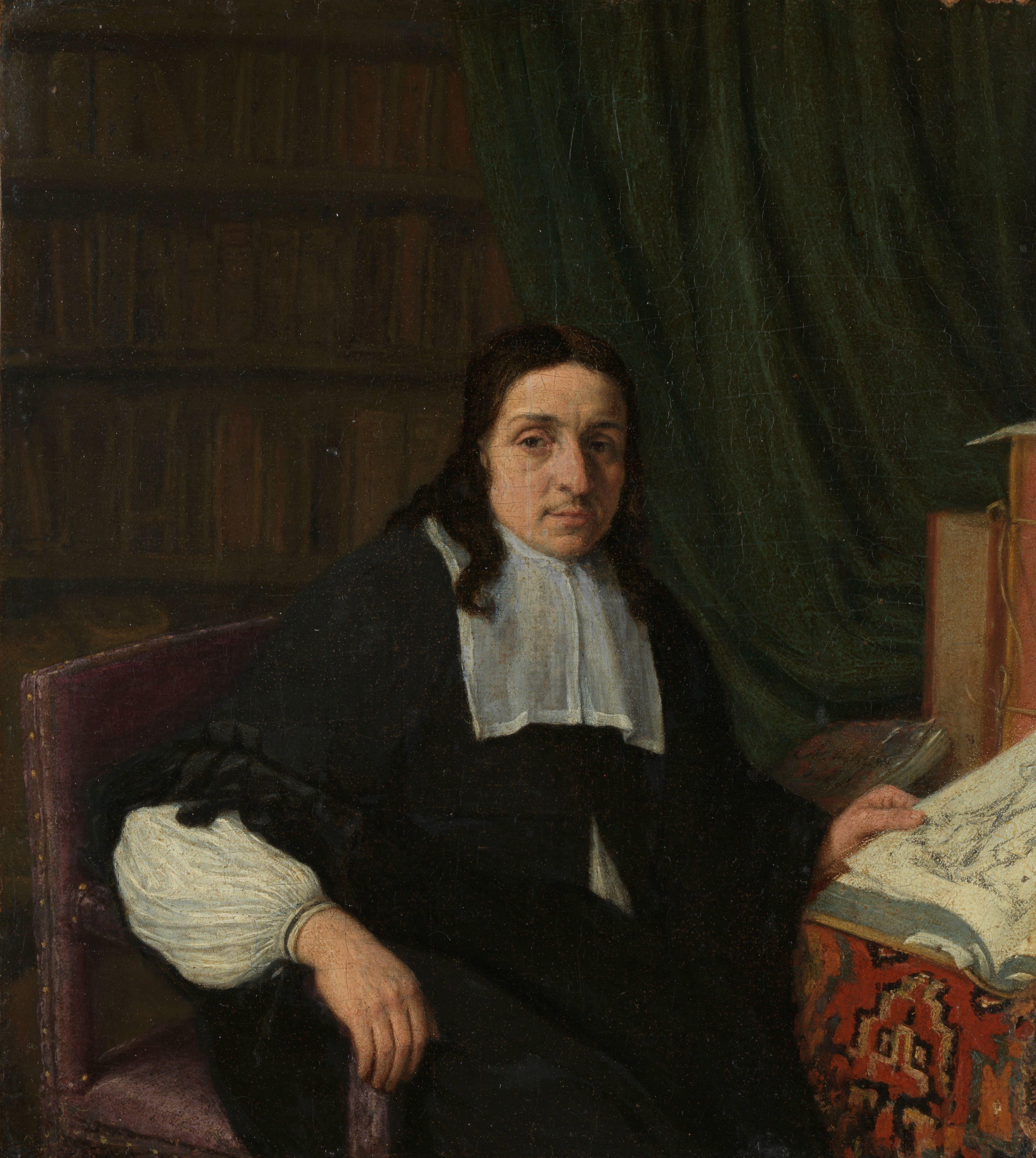 23 Portret van een geleerde Adriaen van Ostade 1665