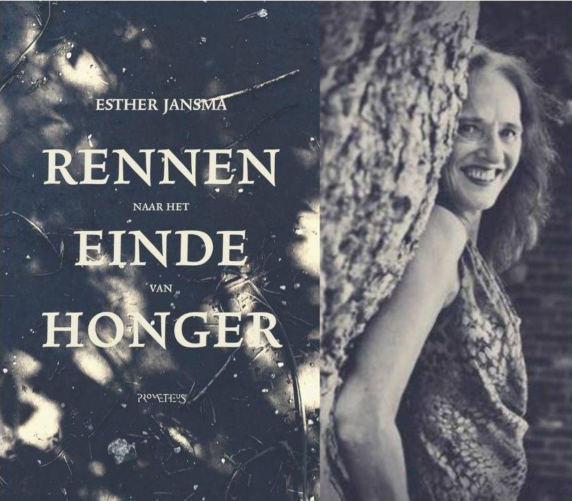 Esther Jansma rennen naar het einde van honger