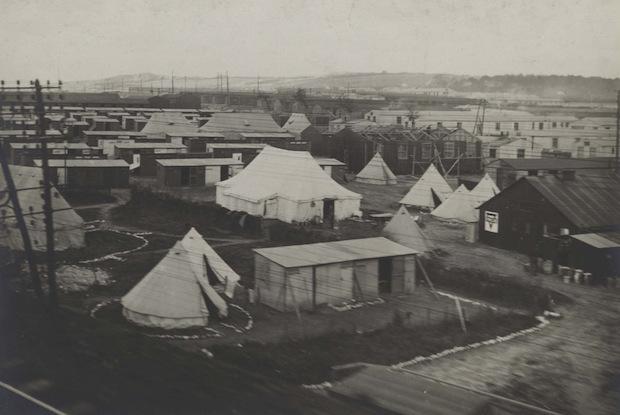 Etaples camp britannique 1916