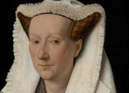 25 Portret van Margareta van Eyck aangepast