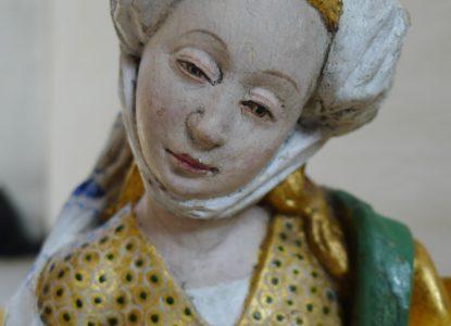 Bro-Uppland-Zweden-Passieretabel-detail-Brusselse-merktekens-c.-1515-1520.-c-Maria-Ihrsén-Pictor-målerikonservering-AB-Stockholm-Zweden