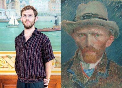 Daan de Jager Zelfportret Vincent van Gogh 1887