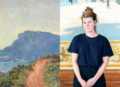Emma Zuiderveen La Corniche bij Monaco Claude Monet 1884