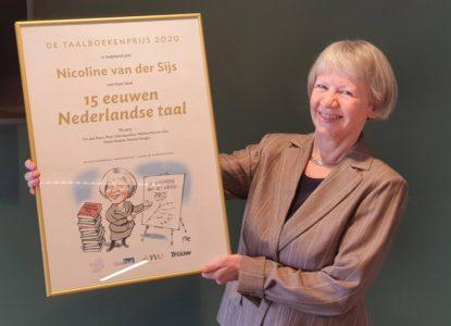 Taalboekenprijs 2020 Nicoline van der Sijs 15 eeuwen Nls 2011