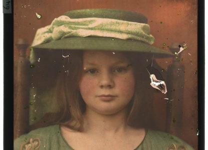 B portrait of maria wilhelmina zweers daughter of photographer berend zweers pk f 64 20