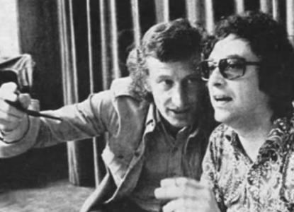 Mulisch met regisseur oidipous