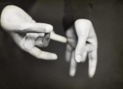 Sign language unsplash