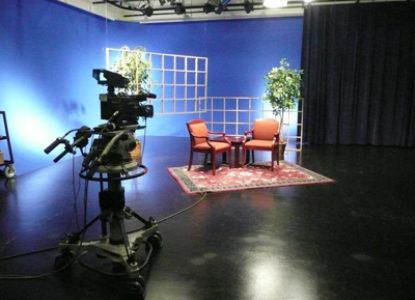 Tvstudio beeld