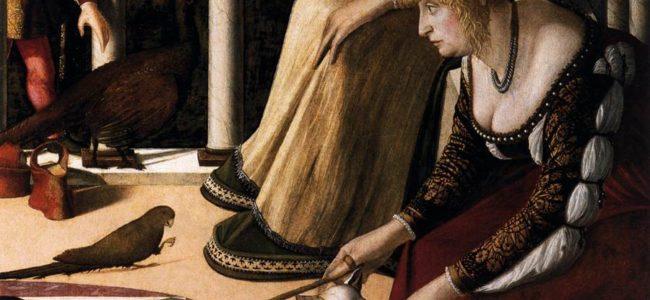 Vittore carpaccio due dame veneziane