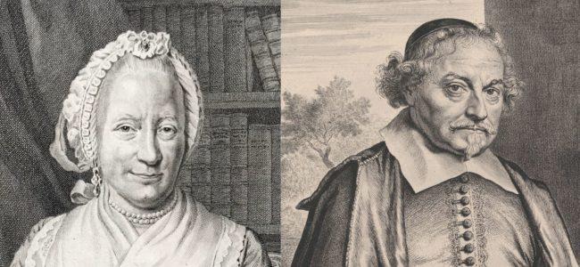 Vondel en Lucretia van Merken