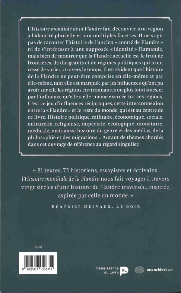 Cover Histoire de la Flandre 1