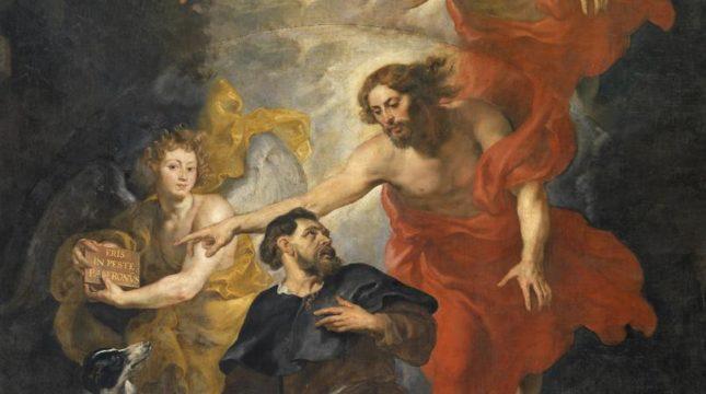 P P Rubens De heilige Rochus