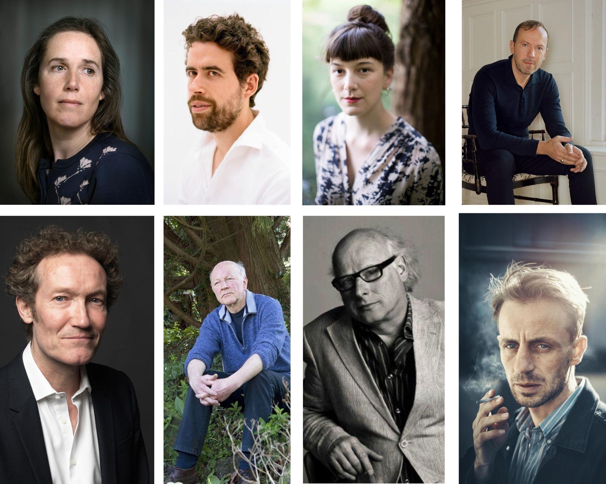 Longlist boekenbon auteurs