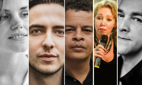 Shortlist grote poëzieprijs 2021 vijf dichters